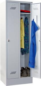 Bild von Garderobenschrank 2 Abteile mit je 300 mm
